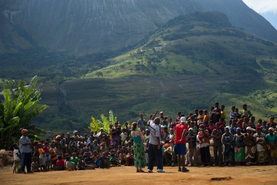 Carruka Community Celebration with the Lost Mountain Team in Zambezia Province, Mozambique (Photo By James Q Martin)