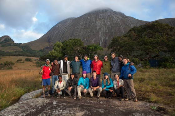 The Lost Mountain Team, Mt Namuli, Mozambique